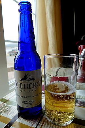La bière Iceberg de Quidi Vidi.