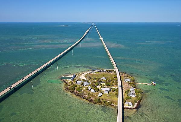 Le pont de 7 miles. Crédit : Andy Newman/Florida Keys News Bureau