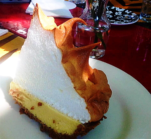 La Key Lime Pie du Blue Heaven