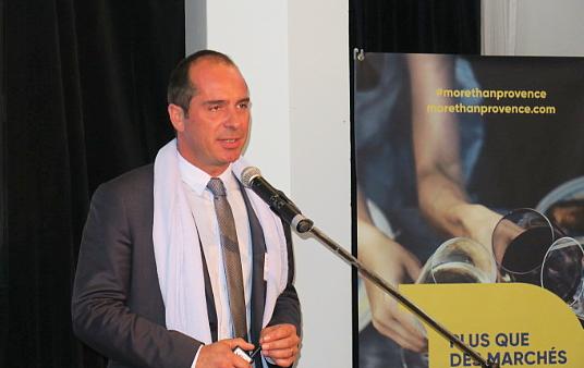 Loïc Chovelon, Directeur général du CRT PACA