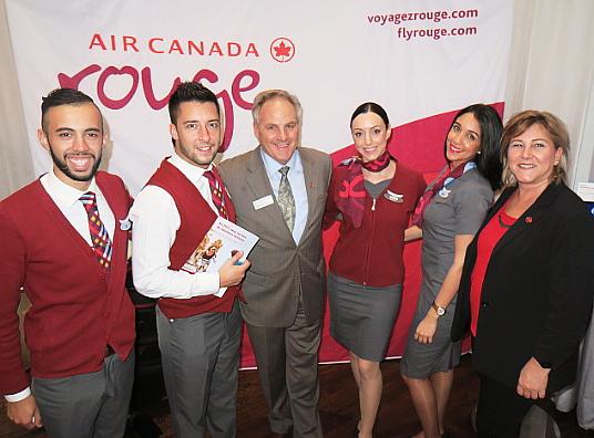 La Provence et Air Canada reçoivent l'industrie