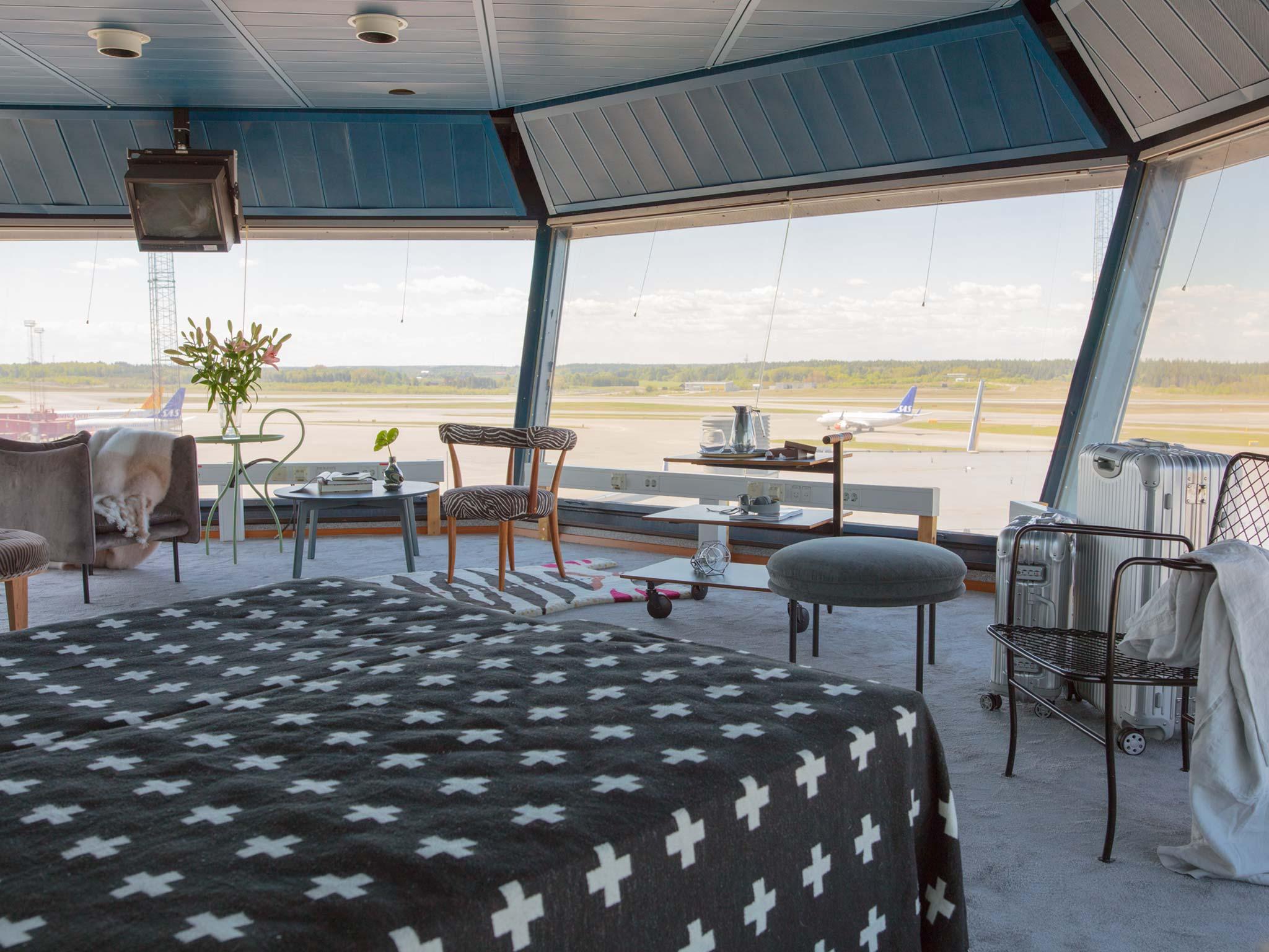 Un appartement de rêve pour les fous d'aviation