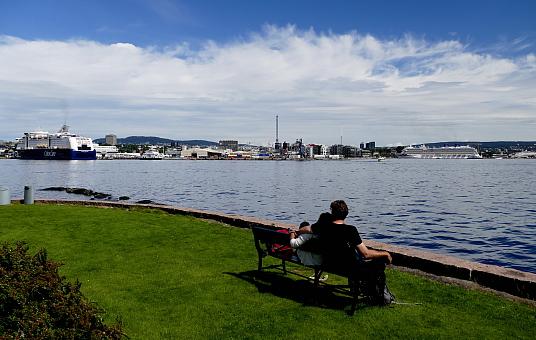 Oslo vue des îles