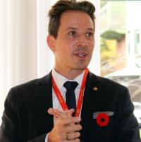 Pascal Prinz, le nouveau directeur de Suisse Tourisme pour le Canada