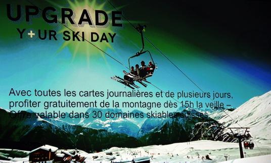 Suisse Tourisme en a profité pour nous parler de leurs nouvelles promotions de ski, pour l'hiver 2018.