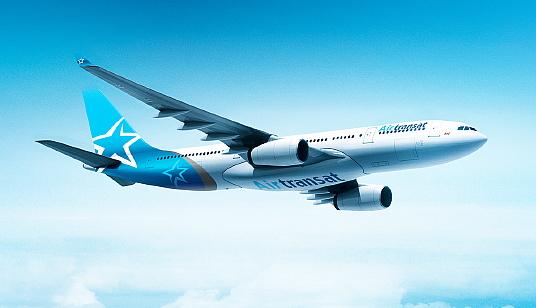 La nouvelle livrée des appareils d'Air Transat