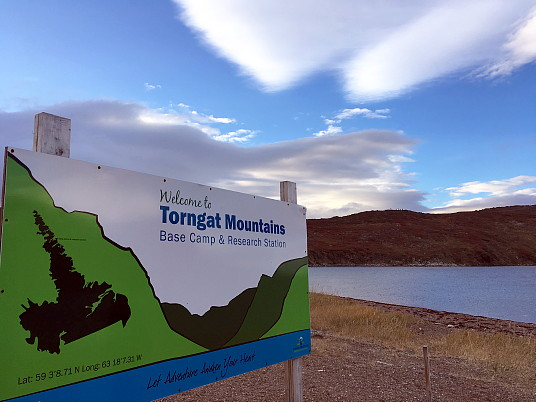 Au camp de base du parc national des monts Torngat