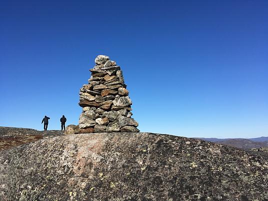 Randonnée sur les hauteurs de Nain au Labrador