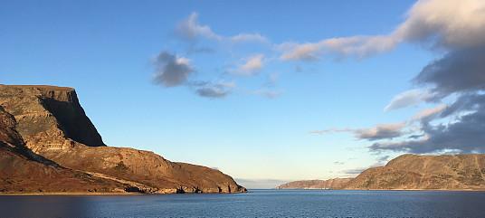 Dans un fjord du Labrador
