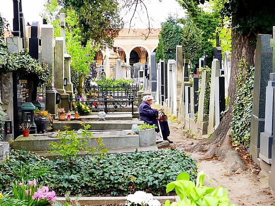 Le cimetière de Vyserhad