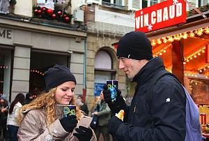Le vin chaud : un des produits vedettes des marchés de Noël