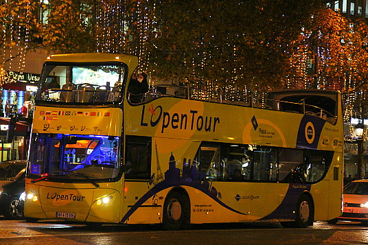 Open Tours Paris propose des circuits spéciaux, pour l'occasion