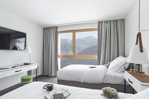 Chambre avec vue au Club Med Grand Massif Samoëns Morillon