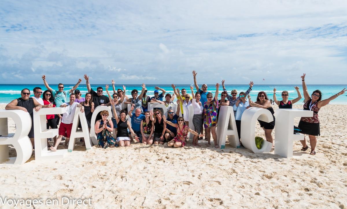 Sur la plage du Beach Palace.(cliquer sur l'image pour l'agrandir)