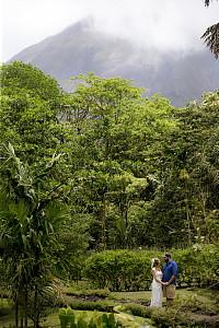 Un mariage de rêve peut devenir un mariage vert au Costa Rica