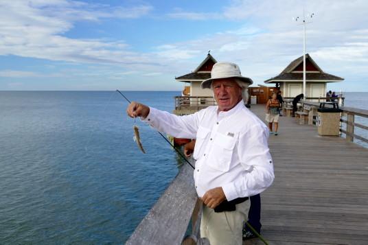 Un pêcheur québécois à Naples