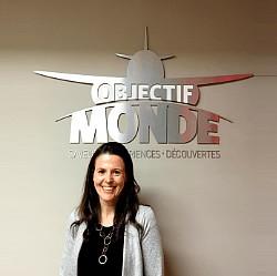 Objectif Monde - nouvelle collaboratrice au poste de Déléguée aux ventes