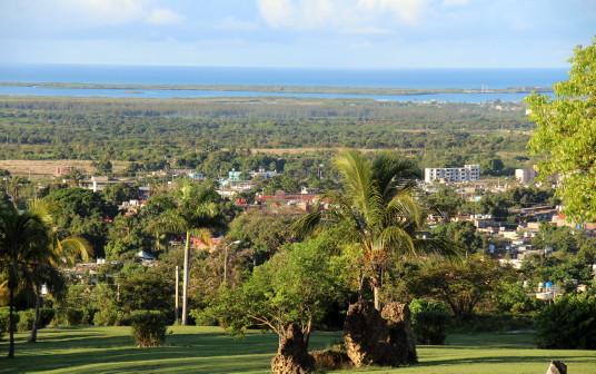 Trinidad, vue de l'Hôtel Las Cuevas