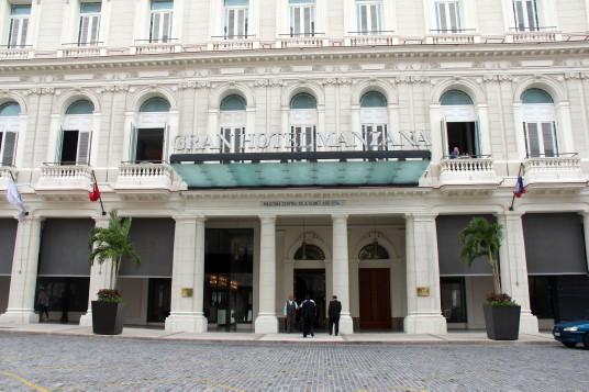la façade du Gran Manzana Kempinski