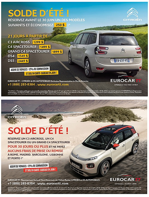Solde d'été chez Eurocar TT