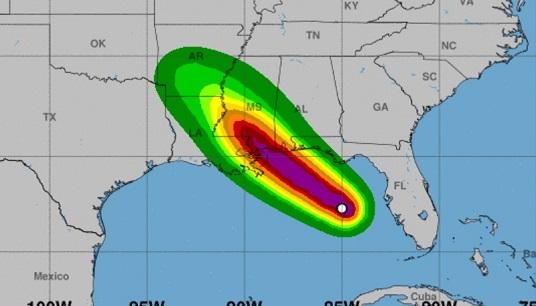 Alerte à la tempête tropicale en Floride, en Géorgie et en Louisiane