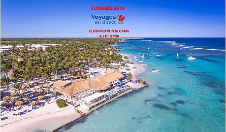 Voyages en Direct tiendra son congrès 2019 au Club Med Punta Cana