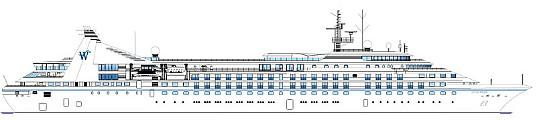 L'expansion et la configuration moderne et élégante de l'aménagement (ci-dessus) incluent la création de 50 nouvelles suites et d'expériences entièrement nouvelles pour la clientèle, dont de nouveaux lieux de restauration et de spa (PRNewsfoto/Windstar Cruises)