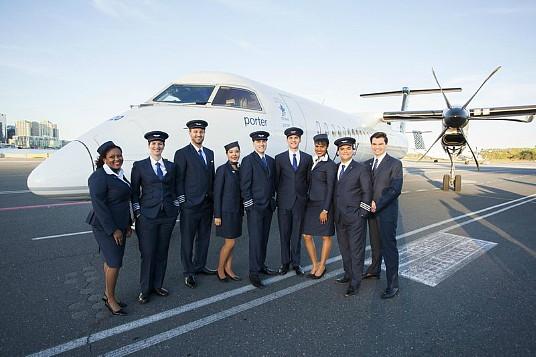 Porter Airlines parraine un nouveau programme de mentorat avec la Northern Lights Aero Foundation dans le but d'attirer et de conserver un plus grand nombre de femmes dans l'aviation et l'aérospatiale. (Groupe CNW/Porter Airlines Inc.)