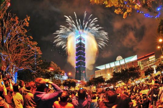 Nouvel an 'magique'  à Taïwan