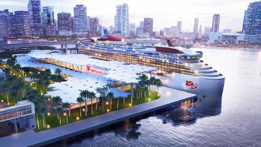 Virgin Voyages dévoile les plans de son nouveau terminal à Miami