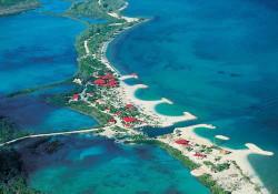 Bahamas: Princess Cays passe au feu