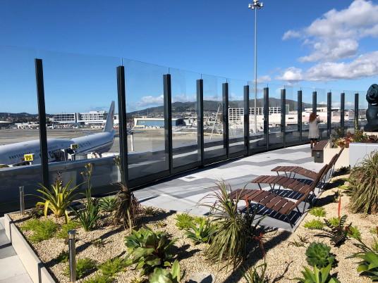 Une nouvelle terrasse panoramique à SFO
