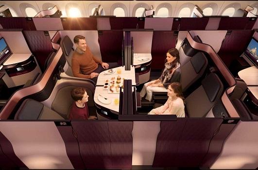 Qatar Airways dévoile sa Qsuite primée sur ses vols montréalais