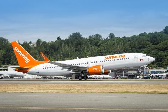 Sunwing : mise à jour sur le retrait temporaire du service de vols à bord des avions Boeing 737 MAX 8