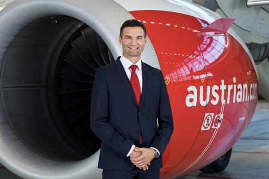 Wolfgang Jani, chef de la direction financière d'Austrian Airlines