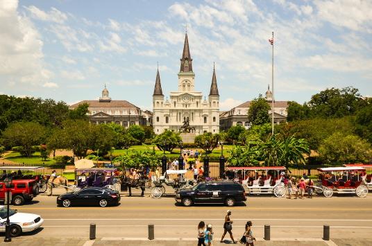 Jackson Square - New Orleans (cr.photo: Transat)