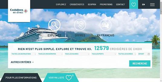 Voyages en Direct va faciliter la recherche des croisières pour les clients