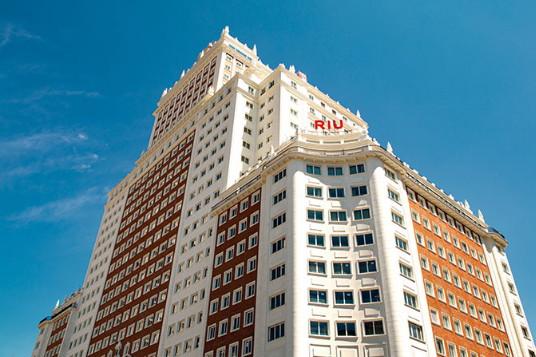 RIU touche le ciel de Madrid