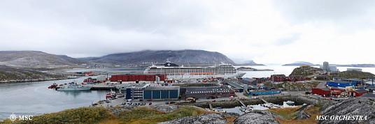 MSC fait escale pour la première fois au Groenland
