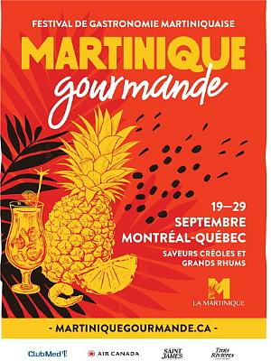 Martinique gourmande 2019 : quatre chefs martiniquais invités et une programmation haute en couleurs !