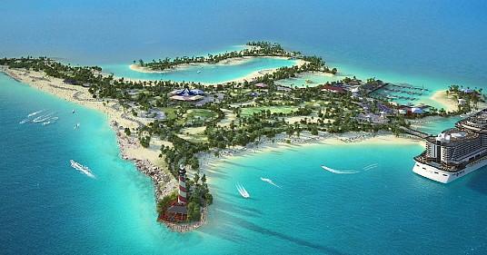 L'île privée de MSC -  Ocean Cay - sera inaugurée le 9 novembre