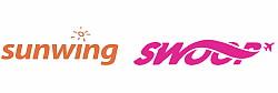 Sunwing et Swoop en partenariat dans l'Ouest