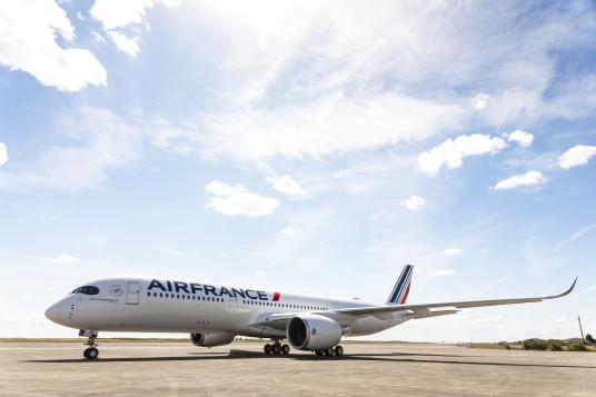 Air France accueille son 1er Airbus A350
