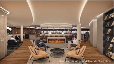 Nouveau salon vedette de WestJet à Calgary : un refuge sous notre toit