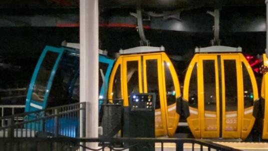 Le nouveau Skyliner de Walt Disney World en panne, de nombreux visiteurs suspendus dans les airs