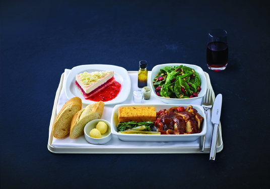 Air Transat propose de nouvelles saveurs cet hiver avec le menu Gourmet du chef Daniel Vézina