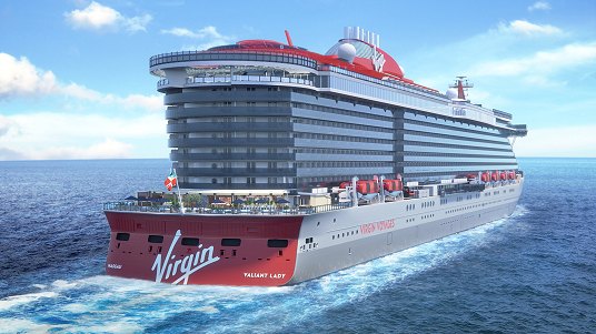 Le second navire de Virgin Voyages s'appellera  'Valiant Lady'