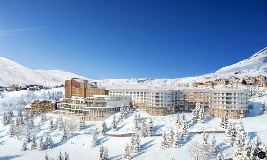 Le Club Med Alpe d'Huez ouvre ses portes :