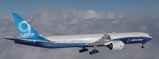 Le Boeing 777 x prend les airs pour la première fois