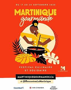 Le Festival Martinique Gourmande est de retour, en édition solidaire et virtuelle, du 17 au 24 septembre 2020
